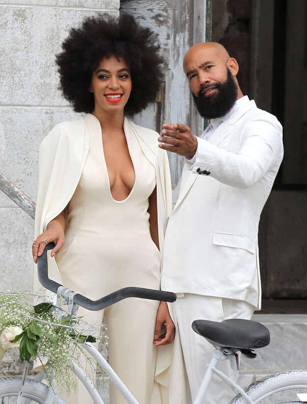 Tebello and thami s wedding dresses